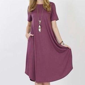 Dresses & Skirts - Ladies Women Stretchy Pocket Tunic Dress 1X 2X 3X